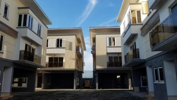 4 Bedroom Townhouse with a Bq, Off Chevron Drive, Chevy View Estate, Lekki, Lagos, Terraced Duplex for Rent