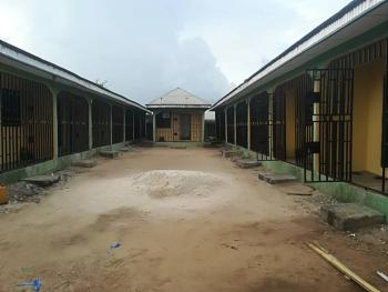 Hostel of 16 Flats and 2 Shops, Abraka, Close to Campus 3, Ethiope East, Delta, Hostel for Sale