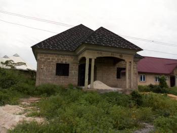 Nicely Built Uncompleted 4 Bedrooms En Suite Bungalow, Obe Community, Off Benin Sapele Rd, Benin, Oredo, Edo, Detached Bungalow for Sale