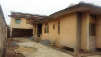 5 Bedroom House with 2 Floor Back House on a Corner Plot, Balogun Road, Iju-ishaga, Agege, Lagos, Block of Flats for Sale