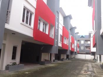 New Lovely Service 4 Bedroom Terrace with Bq, Ikate Elegushi, Lekki, Lagos, Terraced Duplex for Rent