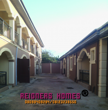 Well Built 2 Bedroom Flat, Off Ijede Road By Tantalizer Bus Stop, Close to The Road, Ikorodu, Lagos, Flat for Rent