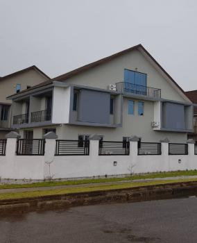 Stylish 4 Bedroom Mansion on 900sqm Corner Piece, Double Lounge, Fully Fitted Kitchen with Island Hob, Exclusive Master Bedroom, Pinnock Beach Estate, Osapa, Lekki, Lagos, Detached Duplex for Sale