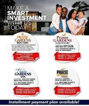 Praise Gardens with Title Registered Survey, Deed of Assignment, Praise Gardens, Eleranigbe, Ibeju Lekki, Lagos, Residential Land for Sale