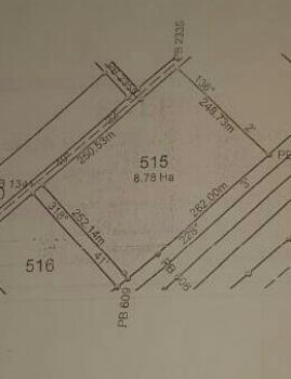8.7 Hectares Housing Bare Land, Opposite Games Village Estate, Kukwuaba, Abuja, Mixed-use Land for Sale