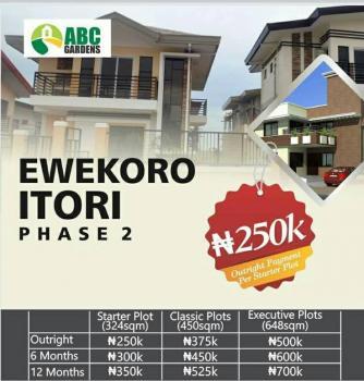 Full Plot of Land, Itori Phase 2, Ewekoro, Ogun, Residential Land for Sale