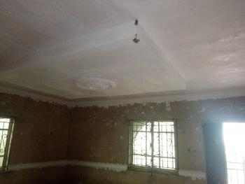 a 4 Bedrooms Bungalow with a Security House at on a Half a Plot, Candos Extension, Unique Estate, Baruwa, Ipaja, Lagos, Detached Bungalow for Sale