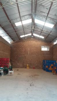 Standard Warehouse of 200sqm with Conveniences, Gate House and Parking Space in a Fully Fenced and Gated Premise, Orita, Challenge, Ibadan, Oyo, Warehouse for Rent