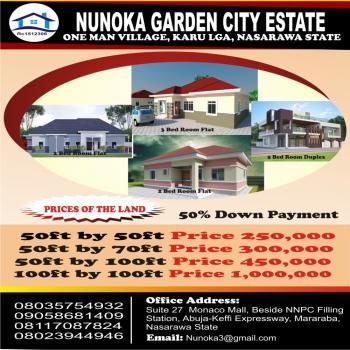 Nunoka Garden City Estate, Opposite Lape/fmbn Housing Estate, Kuruduma, One Man Village, Karu, Nasarawa, Residential Land for Sale