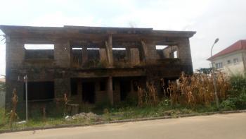 4 Bedroom Semi Detached Duplex Carcass, Apo - Cedacrest Hospital Road, Gudu, Abuja, Semi-detached Duplex for Sale