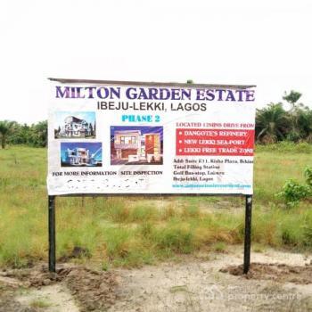 Milton Estate, Akodo Ise, Ibeju Lekki, Lagos, Residential Land for Sale