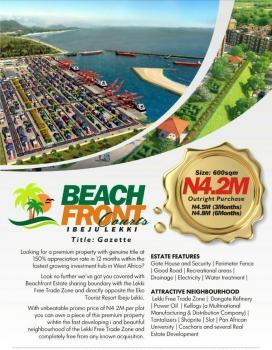 Beach Front Court Estate, Beside Lekki Free Trade Zone, Akodo Ise, Ibeju Lekki, Lagos, Residential Land for Sale