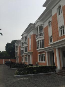 4 Bedroom Luxury Duplex Furnished Kitchen, a.cs, Gym, Swimming Pool with a Room Bq, Macdonald Road, Old Ikoyi, Ikoyi, Lagos, Terraced Duplex for Rent