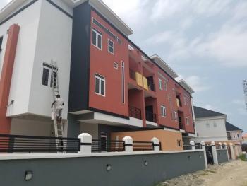 4 Bedrooms Townhouse (parks 5 Cars) Plus a Room Bq, Agungi, Lekki, Lagos, Semi-detached Duplex for Rent