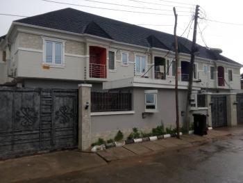 Very Lovely 4 Bedroom Terrace Duplex with Bq and Self Compound, Ilupeju Estate, Ilupeju, Lagos, Terraced Duplex for Sale