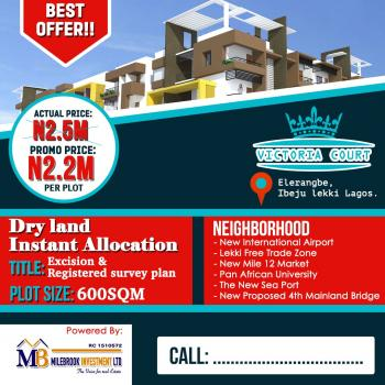 Victoria Court Estate, Facing St. Augustine University Road, Epe, Lagos, Mixed-use Land for Sale