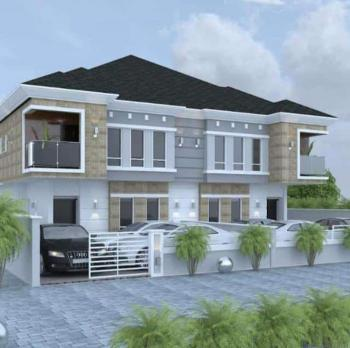 4 Bedroom Semi- Detached Duplex with Bq, Beside Chevron, Chevy View Estate, Lekki, Lagos, Semi-detached Duplex for Sale