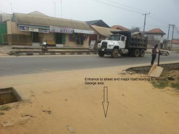 Two Plots of Land with Uncompleted Building in It, Eleperenwo, Ikwerre, Rivers, Mixed-use Land for Sale