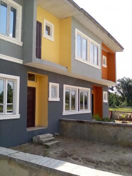 3 Bedroom Terraced Duplex with C of O and  All Rooms En Suite, Oribanwa, Ibeju Lekki, Lagos, Terraced Duplex for Sale