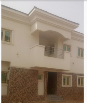 Brand New 14 Units of 4 Bedroom Terrace  Duplexes with One Room Bq in a Mini Estate, Durumi, Abuja, Terraced Duplex for Sale