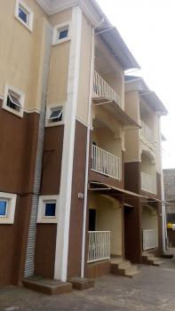 Top Notch 1 Bedroom Flat Furnished with Ac, Life Camp, Kado, Abuja, Mini Flat for Rent