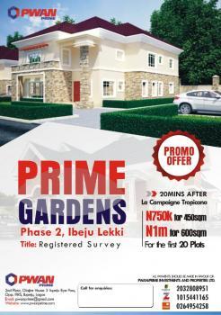 Dry Plots of Land - Prime Gardens Ibeju Phase 2, Akodo Ise, Ibeju Lekki, Lagos, Residential Land for Sale