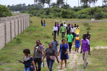 Fenced and Secure Land, It Is Few Minutesn After La Campaign Tropicana Resort, Ibeju Lekki, Lagos, Mixed-use Land for Sale
