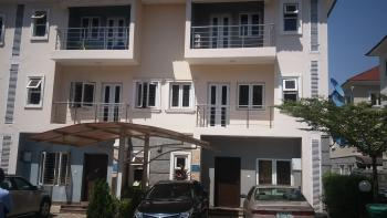 4 Bedroom Serviced and  Partially Furnished Terrace Duplex, Brains and Hammers Estate, Behind Shoprite, Apo, Abuja, Terraced Duplex for Rent