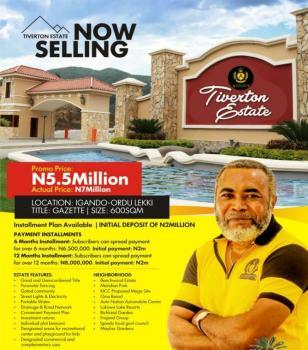 Tiverton Garden, Eputu, Ibeju Lekki, Lagos, Mixed-use Land for Sale