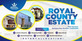 Royal County Estate with Instant Allocation. Buy and Build on a Dry Land, Igbolomi Village, By The Free Trade Zone, Okunraiye, Ibeju Lekki, Lagos, Mixed-use Land for Sale