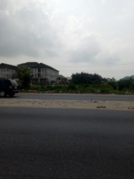 a Well Fenced Plot of Land, Very Good for Car Dealers, Bar, Etc, Facing The Express Road at Abijo Gra Besides Km 23, Abijo, Lekki, Lagos, Commercial Land for Rent