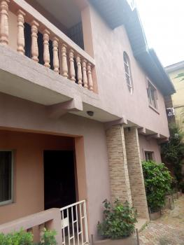 3 Bedroom Flat with Master Bedroom, P. O. P and Has Water Heater, Visitors Toilet, Garden, Two in The Compound, Kujore Street, Ojota, Lagos, Flat for Rent