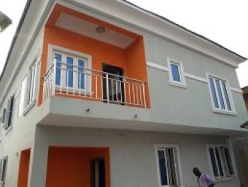 4 Bedrooms Duplex with 1 Study Rm Total Five Bedrooms in Front Attached with 2 and 3 Bedrm at The Back of Yaba Tech, Yaba, Yaba Tech, Yaba, Lagos, House for Sale