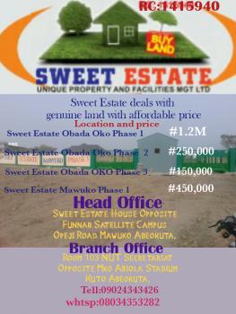 Land, Abeokuta Express Road, Ewekoro, Ogun, Residential Land for Sale