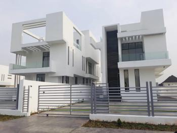 Contemporary Five Bedroom Detached House with Bq for Sale in Osapa London, Pinnock Beach Estate, Osapa, Lekki, Lagos, Detached Duplex for Sale