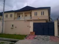 5 Bedroom Semi-detached Duplex (all En-suite) With Fitted Kitchen, Ante Room, 2 Sitting Rooms, Study Room, Gym Room And Boys Quarters, Lekki Phase 1, Lekki, Lagos, 5 Bedroom, 6 Toilets, 5 Baths House For Sale