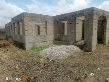 5 Bedroom Bungalow Uncompleted Up to Decking Level on a Full Plot of Land., Ikola, Ipaja, Lagos, Detached Bungalow for Sale