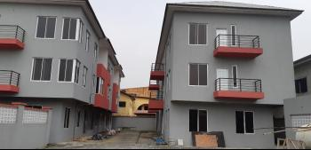 Luxury 5 Bedroom Serviced Town House with Room Bq, Africa Lane, Lekki Phase 1, Lekki, Lagos, Semi-detached Duplex for Rent