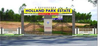 Holland Park Estate, Moniya, Akinyele, Oyo, Commercial Land for Sale