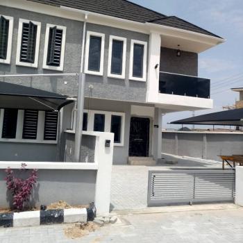 Sweet Luxury 4 Bedroom Semi-detached Duplex with Bq (24hrs Power & Serviced), Lafiaji, Lekki, Lagos, Semi-detached Duplex for Sale
