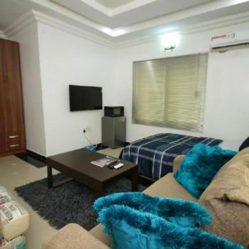Fully Serviced & Furnished Studio Apartment in a Gated Estate, Off Elegushi Beach Road, Ikate, Lekki, Lagos, Self Contained (single Rooms) Short Let