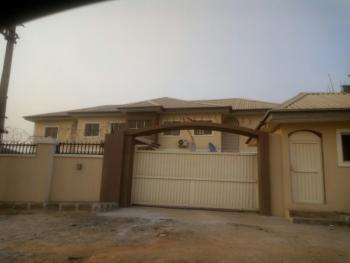 a Spacious 2 Bedroom Flat  with  a Room Bq, By Aso Radio, Katampe (main), Katampe, Abuja, Flat for Rent
