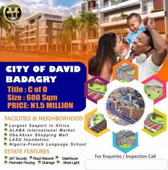 Affordable Plots with C of O, Inogi Town, Along Owode Apa Road, Magbon, Badagry, Lagos, Residential Land for Sale