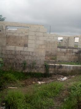 2 Bedroom Uncompleted on Pieces of Land 60 By 40 Fenced, 234, Marculy Junction, Bayeku, Igbogbo, Ikorodu, Lagos, Detached Bungalow for Sale