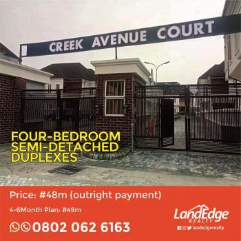 Luxury 4 Bedroom Semi-detached Duplexes, Behind Ikota School, Ikota Villa Estate, Lekki, Lagos, Semi-detached Duplex for Sale
