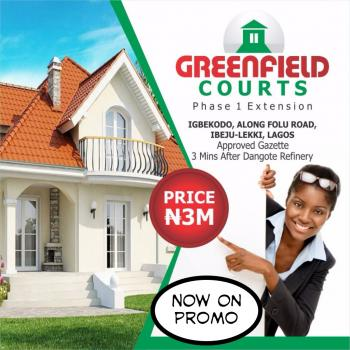 Land for Sale in Ibeju Lekki. Free From Govt. Acquisition, 5 Minutes Before La Campaigne Tropicana, Ibeju Lekki, Iberekodo, Ibeju Lekki, Lagos, Mixed-use Land for Sale