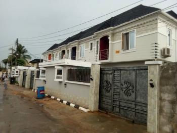Newly Built 3 Bedroom Terrace Duplex with Bq in Its Own Compound, Off Coker, Ilupeju Estate, Ilupeju, Lagos, Terraced Duplex for Sale