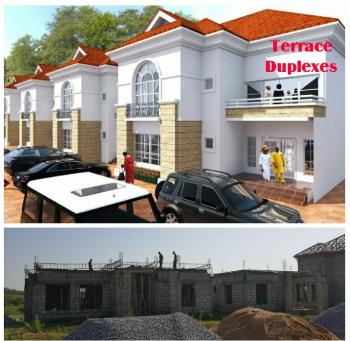 a Prime Estate in a Semi Highbrow Part of Town, Offers You This Affordable Housing Prototype, Available in Finished Or Shell Units, Karsana-north, Just Off The Fha-kubwa Connecting Bridge/5 Minutes From Katampe Extension, Karsana, Abuja, Terraced Duplex for Sale