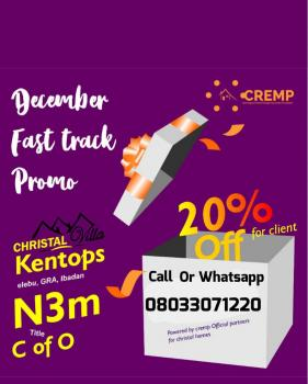 Promo on Land with C of O, Off Akala Expressway, Ibadan, Oyo, Residential Land for Sale