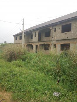 4 Units of 3 Bedroom Flat on Corner Piece, Elepe, Ikorodu, Lagos, Block of Flats for Sale